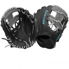 "Easton 11.75"" Core Pro Fastpitch Glove, COREFP 1175BKGY"