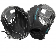 Easton COREFP 1175BKGY Core Pro Fastpitch Glove, 11.75""