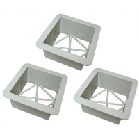 Soft Touch AY1415M Base Replacement Ground Mounts, set of 3
