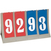Champion Portable Flip Tabletop Scoreboard, FAS4