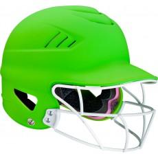 Rawlings/Worth WHL60FG 60mph Fastpitch Softball Highlighter Helmet