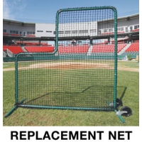 Deluxe L-Screen REPLACEMENT NET, 7' x 7'