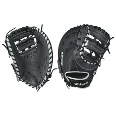 Wilson A2000 WTA20RB171617SS SuperSkin First Base Mitt, 12.5""