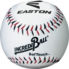 "Easton A122101TS Incrediball SofTouch Training Baseball, 9"", ea"