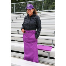 Wrapalap™ All Weather Fleece Leg Blanket with Pockets & Seat Cushion