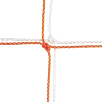 Champion 204 Official Soccer Nets, 3.5mm, 8' x 24' (pr)