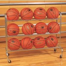 Champion 12 Ball Wide Base Basketball Ball Rack, BRC3