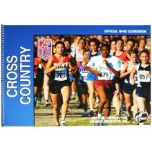 Cramer 191302 Official High School Scorebook, CROSS COUNTRY