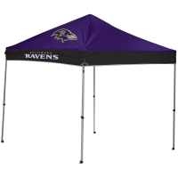 Baltimore Ravens NFL 9x9 Straight Leg Canopy