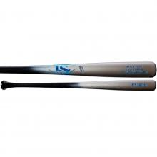 Louisville Slugger Y271 Youth Prime Maple Wood Baseball Bat, Silver/Blue, WTLWYM271A17
