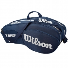 Wilson Team III 6 Pack Blue Tennis Bag