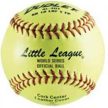 "Dudley SB 12L 47/375 Fastpitch Little League Softball, Leather, 12"", dz"