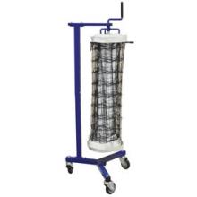 Jaypro VNK11 Volleyball Net Storage Cart, SINGLE