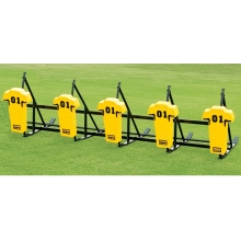 Fisher CL5M JV Football Blocking Sled - MAN PAD, 5 MAN