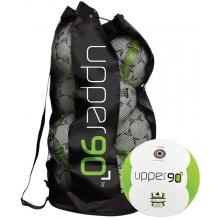 Gill 54104 Upper 90 Soccer Balls & Bag, Size 4, set of 10