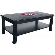 Montreal Canadiens NHL Hardwood Coffee Table