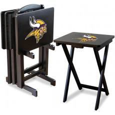 Minnesota Vikings NFL TV Snack Tray/Table Set