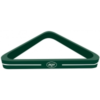 New York Jets NFL Billiards Triangle Rack