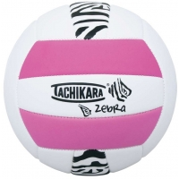 Tachikara ZEBRA.PKW Recreational Volleyball, Pink