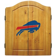 Buffalo Bills NFL Dartboard Cabinet Set