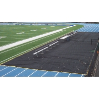Aer-Flo Bench Zone Sideline Track Protector, 15' x 125'