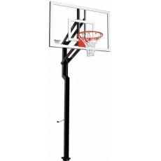 "Goalsetter Contender Signature Series Outdoor Basketball Unit w/ 36"" x 54"" Acrylic Board"