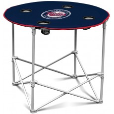 Minnesota Twins MLB Pop-Up/Folding Round Table