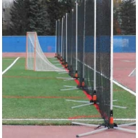 Hot Bed Lacrosse / Soccer Safety Netting System, 180'L x 12'H