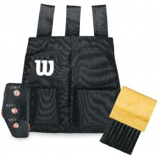 Wilson WTA6754 Umpire Brush, Indicator & Bag Kit