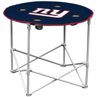 New York Giants NFL Pop-Up/Folding Round Table