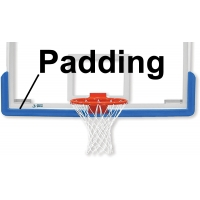 Jaypro MBBP-6 Safe-Pro Basketball Backboard Edge Padding