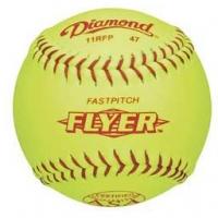 "Diamond 11RFPSC 47/375 ASA Fastpitch Softballs, 11"", dz"