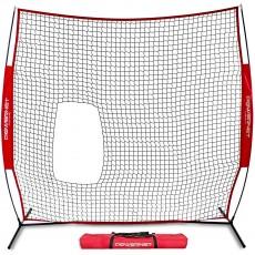 POWERNET Pop Up Pitch Thru Softball Screen