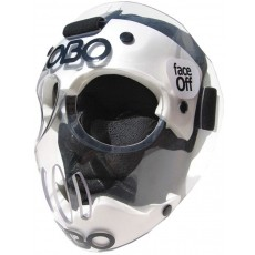 OBO FaceOFF Transparent Short Corner Field Hockey Mask