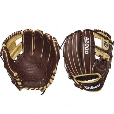 "Wilson 11.75"" A2000 Dark Brown & Blonde Baseball Glove, WTA20RB181787"