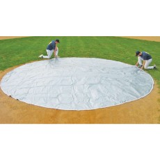 FieldSaver 18' diameter Base Cover / Little League Home Plate Cover, WOVEN POLY