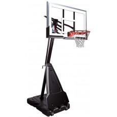 "Spalding 60"" Acrylic Portable Residential Basketball Hoop"