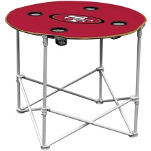 San Francisco 49ers NFL Pop-Up/Folding Round Table