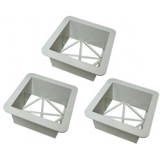 Soft Touch Base Replacement Ground Mounts, AY1415M, set/3