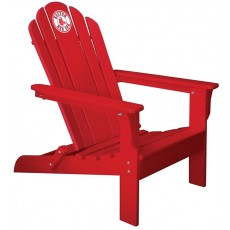 Boston Red Sox MLB Folding Adirondack Chair, RED