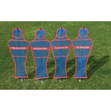 Soccer Innovations Soccer Wall CLUB Mannequin, Set of 4