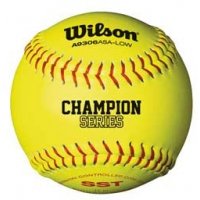 "Wilson WTA9306BASA-LOW 47/375 ASA Fastpitch Softballs, 11"", dz"
