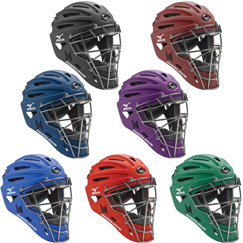 Mizuno 380192 Samurai G4 Catchers Helmet Youth