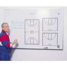KBA LR-4872-M Locker Room Basketball Playmaker, Magnetic Dry Erase Coaching Board