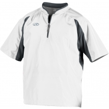 Rawlings Baseball Short Sleeve Cage Jacket, TOCCJ