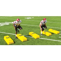Fisher Stepover Football Dummy, 10''H x 17''W x 48''L