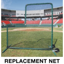 ProMounds Deluxe L-Screen REPLACEMENT NET, 7' x 7'