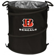 Cincinnati Bengals NFL Collapsible 3-in-1 Hamper/Cooler/Trashcan