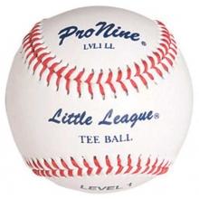 Pro Nine LVL1 LL Official Little League Level 1 Tee Balls, dz