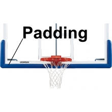 Porter 00326 Pro-Pad, Bolt-On Backboard Edge Padding